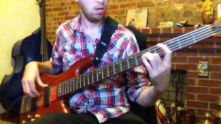Between the BUried and Me Silent Flight Parliament Bass Cover