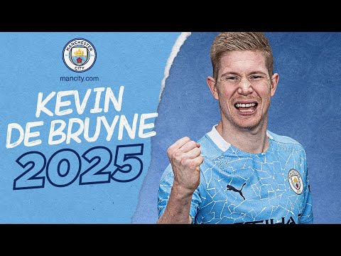 KEVIN DE BRUYNE | CONTRACT EXTENSION | 2025