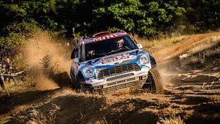 Kuba Przygoński - Baja Poland 2015 - debiut za kierownicą MINI