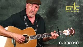 Learn EZ classic country music Jimmie Rogers Standing On The Corner guitar lesson w/ chords strums