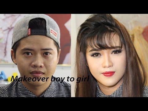 Asian makeover - Power of makeup man / Makeup ✔