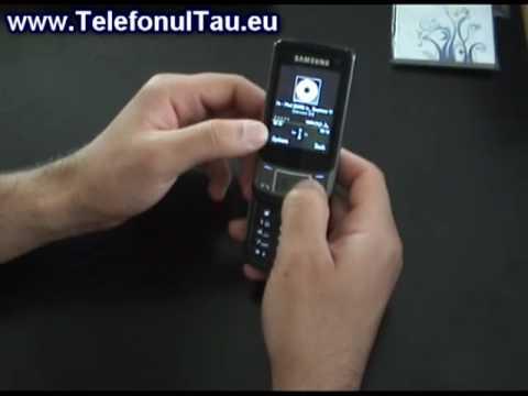 Samsung C5510 Review ( in Romana ) - www.TelefonulTau.eu -
