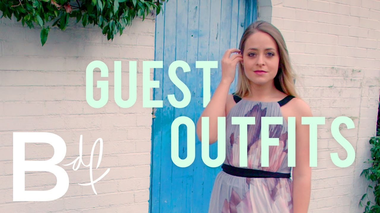 Top 5 Wedding Guest Looks - YouTube