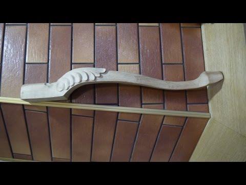 Ножки кабриоль с резьбой (гнутые ножки) Cabriole legs with thread (curved legs)