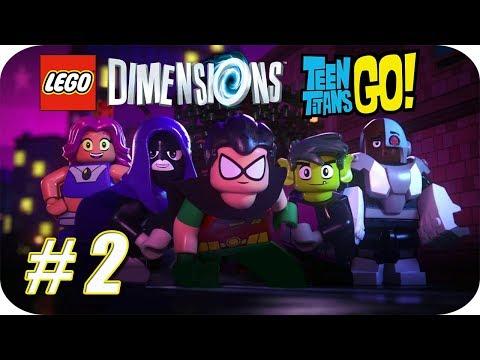 "LEGO Dimensions [Año 2] Wave 9 (2017) Gameplay - Mundo de Aventuras ""Teen Titans GO!"" Parte 2"