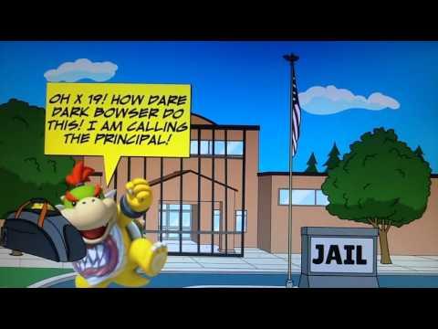 Dark Bowser Turns School Into Jail