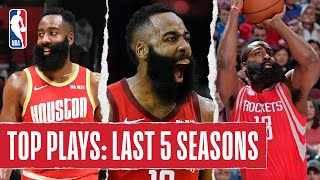 James Harden's TOP PLAYS | Last 5 Seasons