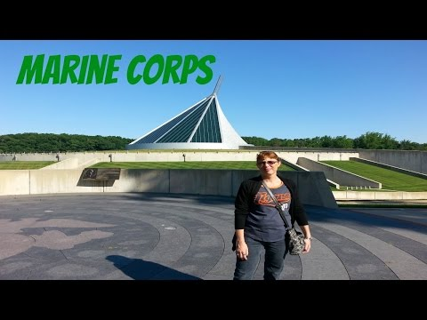 Visiting The National Museum of the Marine Corps