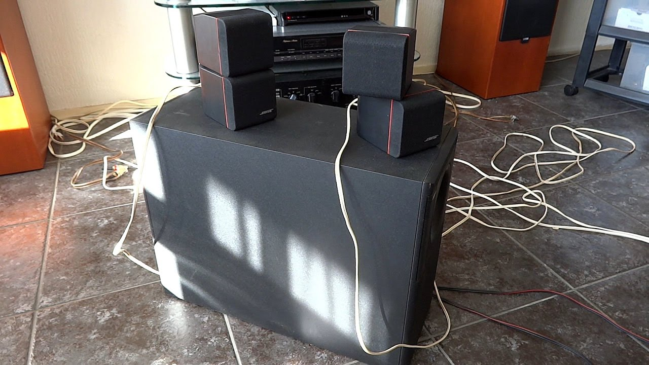 bose acoustimass 5 series ii test youtube. Black Bedroom Furniture Sets. Home Design Ideas
