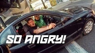 Most Upset Driver, EVER! (Stolen Car, Called 911)
