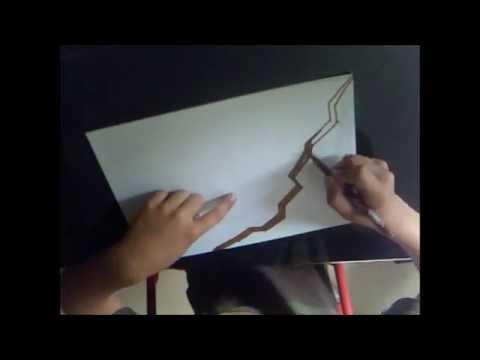 apprendre a dessiner un mur 3d graff youtube. Black Bedroom Furniture Sets. Home Design Ideas
