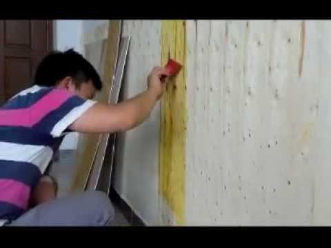 How to install UV resistant PVC marble  sheet