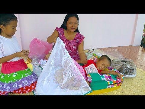 Waduh perlengkapan bayi sudah di tes sama shanti heehe - persiapan melahirkan - Baby Clothing Haul