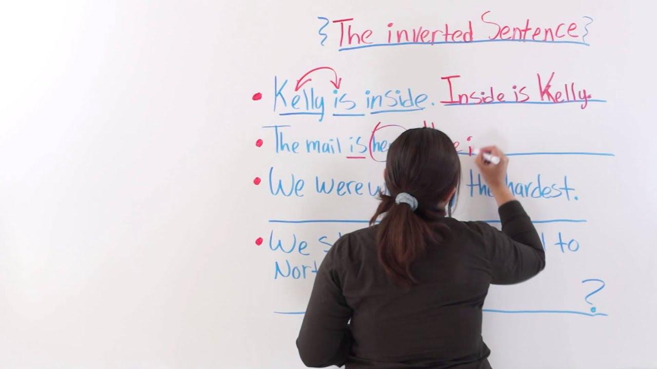 inversion english grammar exercises pdf