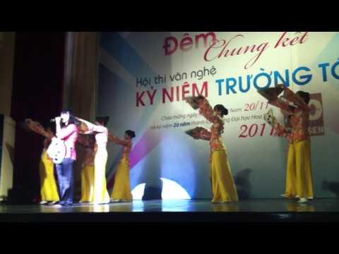 Buc Hoa Dong Que - Khoa DTCN - DH Hoa Sen