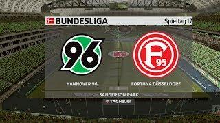⚽ FIFA 19 Bundesliga Hannover 96 : Fortuna Düsseldorf 🏆 Gameplay Deutsch Livestream
