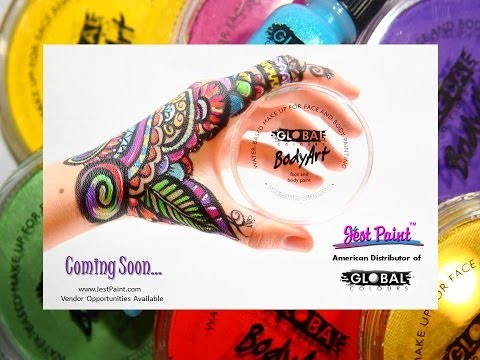 Global Body Art Face Paints Review