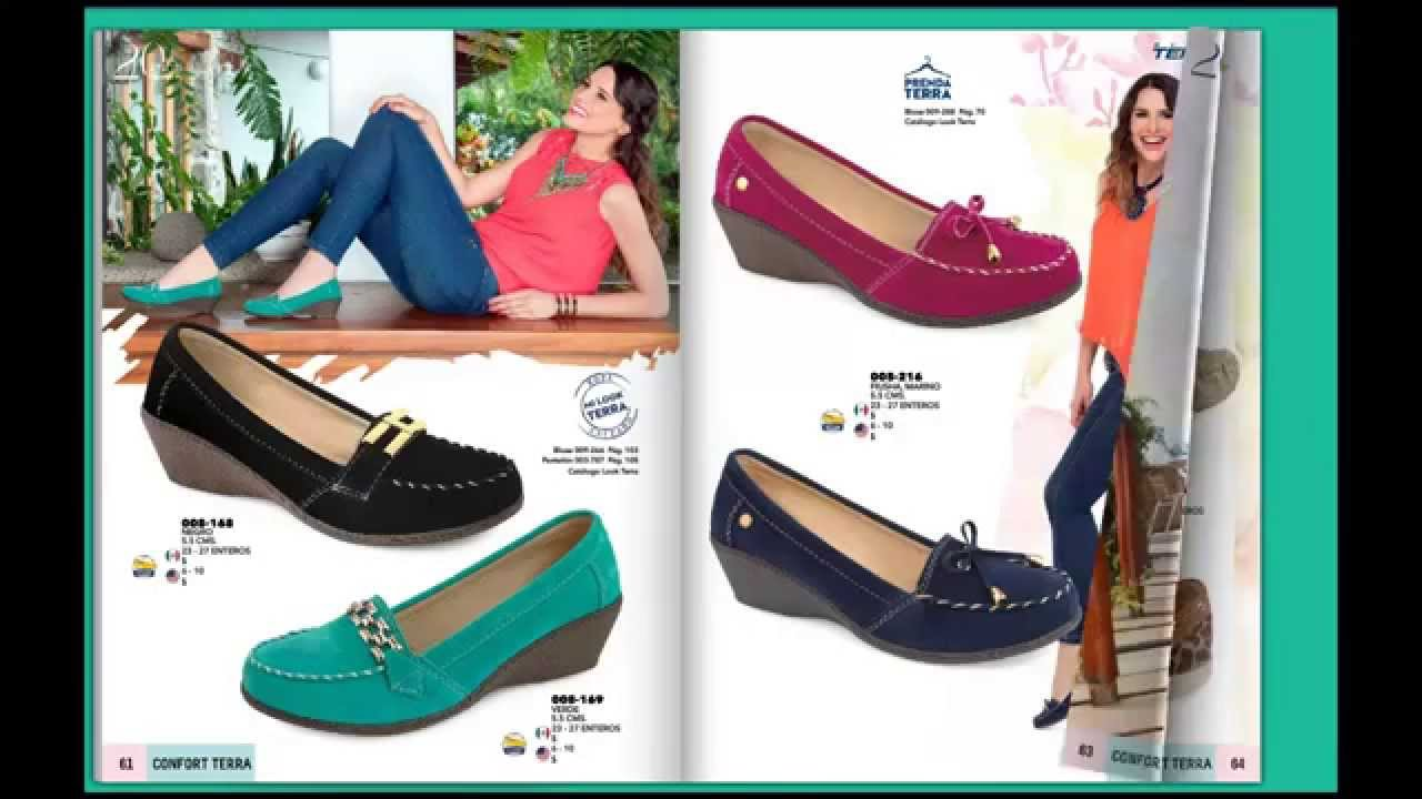 Zapatos mundo terra confort catalogo primavera verano for Catalogos terra
