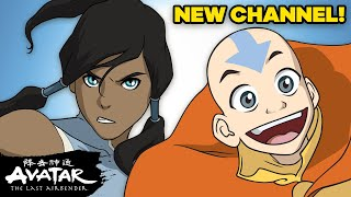 SUBSCRIBE to the NEW Avatar: The Last Airbender Channel! 💧⛰🔥💨