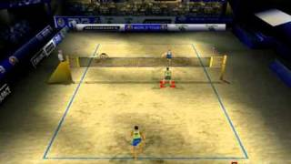 Let's Play! Power Spike Pro Beach Volleyball