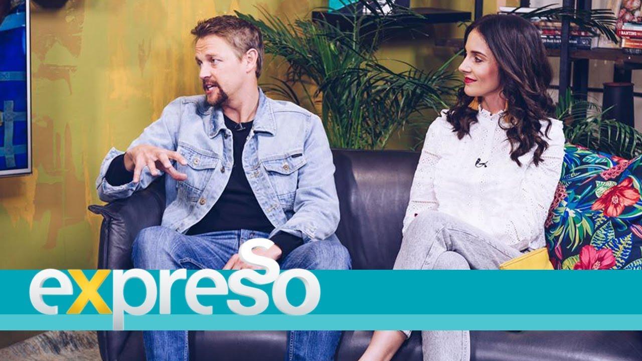 Download Ivan Botha and Donnalee Roberts chat 'Stroomop'