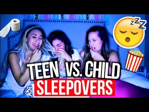 High School Sleepovers Vs. Child Sleepovers! from YouTube · Duration:  11 minutes 10 seconds