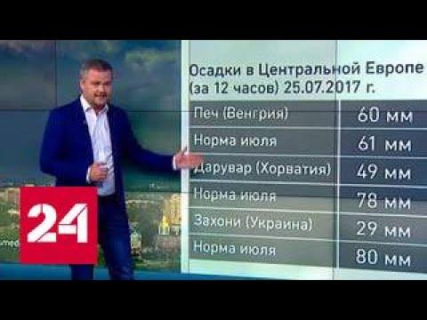 """""""Погода 24"""": в Россию идет настоящая летняя жара"""