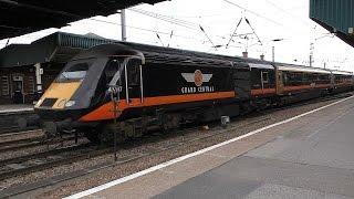 Variety at Doncaster station, including platform 0!
