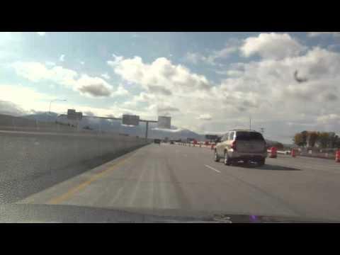 GoPro driving timelapse - Provo to Moroni