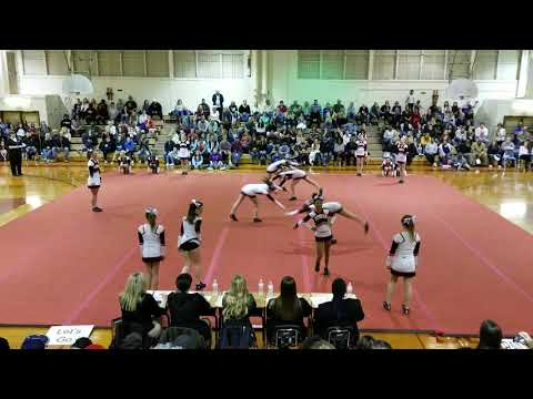 Robious Middle School at Chesterfield County Middle School Cheer Competition 2019