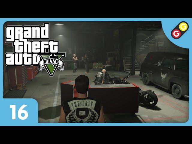 GTA V - Tuning à Los Santos #16 On infiltre les Lost ! [FR]