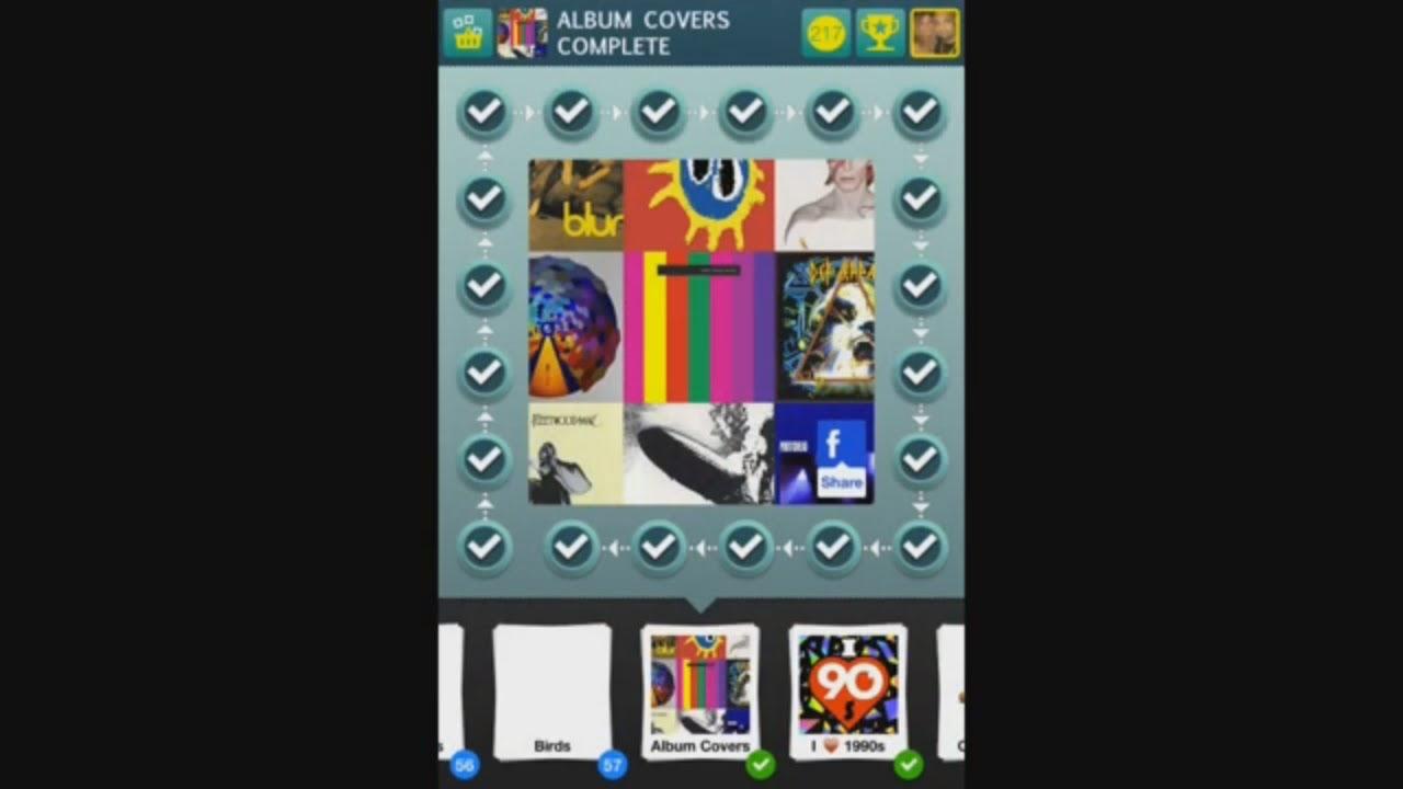 100 Pics Quiz - Album Covers 1-100 Answers - YouTube