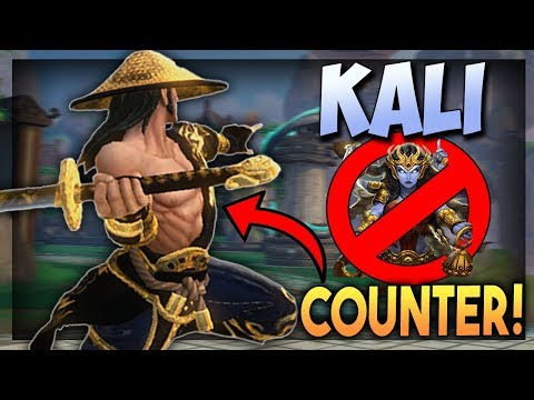 Smite: How to Counter Kali! - Masters Susano Ranked Duel