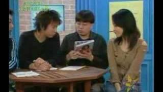 Reon Kadena promotes her photobook on a Japanese TV show. She also ...