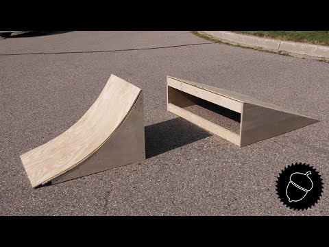 How to Build BMX Ramps!