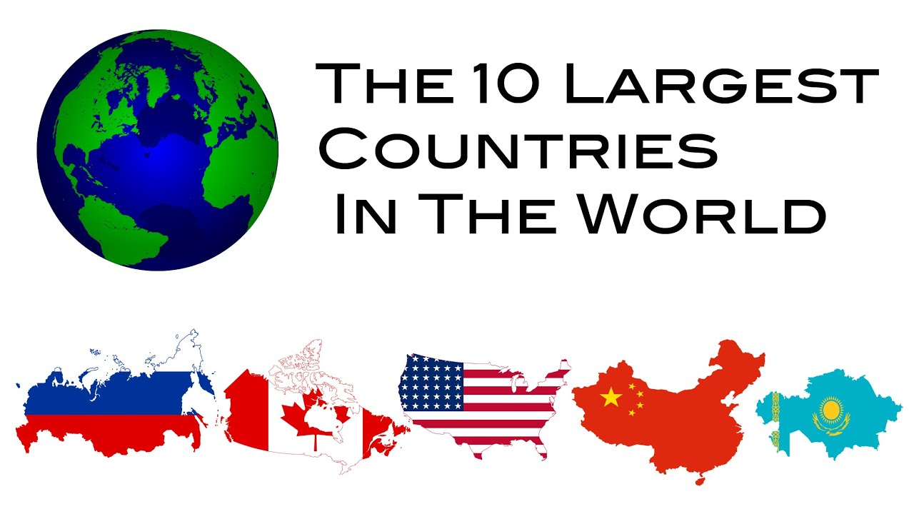 Top Biggest Countries In The World YouTube - Biggest country in the world