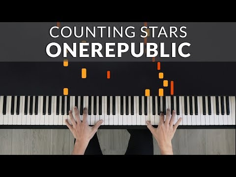 OneRepublic - Counting Stars | Tutorial of my Piano Cover