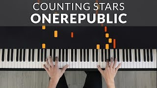 Download lagu OneRepublic - Counting Stars | Tutorial of my Piano Cover + Sheet Music