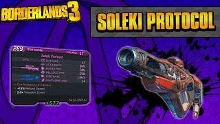 Borderlands 3 | Soleki Protocol Unique Weapon Guide (Fibber Sniper!)