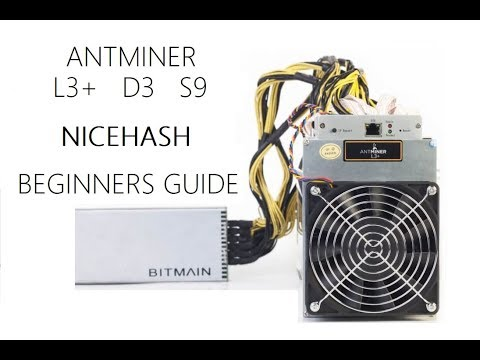 Setup Your Antminer - ALL MODELS  - Nicehash Beginners Guide!