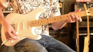 Test de Fender Player Series Strat MN PWT