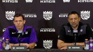 Luke Walton Introductory Press Conference - Sacramento Kings - Head Coach | April 14