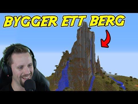 BYGGER ETT BERG I MINECRAFT  Lets Play S4E37 med SoftisFFS