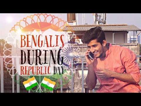 Bengalis During Republic Day | Bangla Funny Video 2018| Being Bong