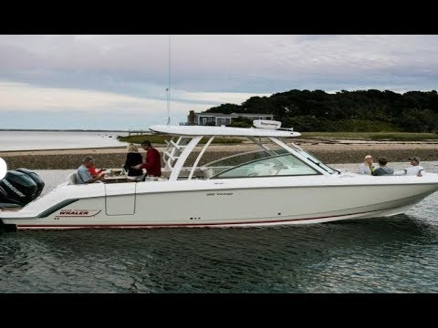 2018 Boston Whaler 320 Vantage Boat For sale at MarineMax Clearwater