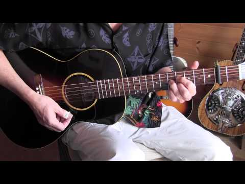 "lesson ""blues in my fingers"" lonnie johnson style - freetab"