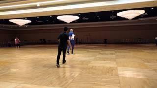 Mambo Number 5 line dance on roller skates at Vegas Dance Explosion 2015