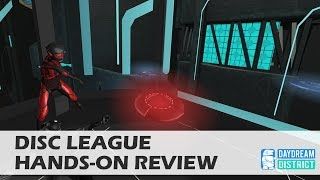 The Future of Frisbee - Disc League for Daydream VR Hands-On Review