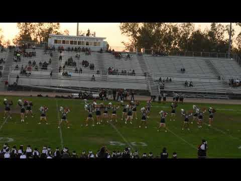 Thomas Downey High School Cheer Part 1 10/26/18