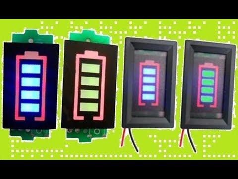 Как подключить индикатор заряда аккумулятора